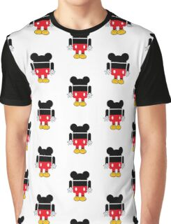 Android Mickey Graphic T-Shirt