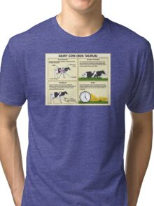 The Dairy Cow Tri-blend T-Shirt