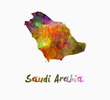 Saudi Arabia in watercolor Unisex T-Shirt