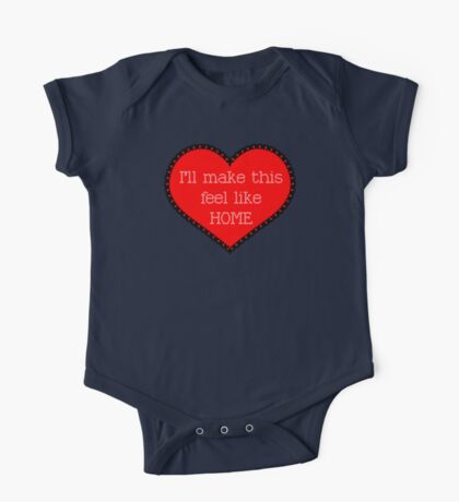 #ProjectHome - One Direction Home Lyrics One Piece - Short Sleeve