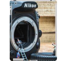 Cleaning a nikon camera iPad Case/Skin