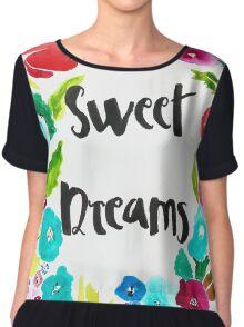 sweet dreams Women's Chiffon Top