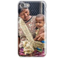 Young Mother and Child iPhone Case/Skin
