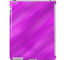 purple ridges iPad Case/Skin