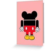 Android Mickey Greeting Card