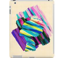 Africa Dream Woman Peace Rainbow Collage iPad Case/Skin