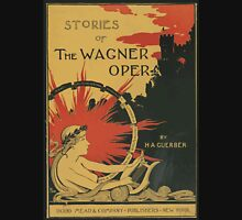 Artist Posters Stories of the Wagner opera by HA Guerber Hurd 0582 Unisex T-Shirt