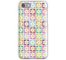Cute Stitched Flower Patches iPhone Case/Skin