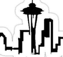 SEATTLE SKYLINE GREYS ANATOMY Sticker