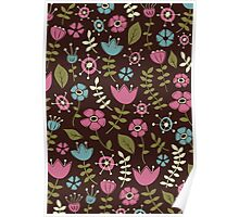 Whimsical Flowers III Poster