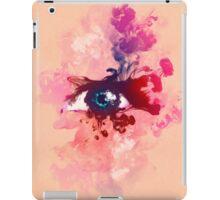 Psychedelic Color Eye Splash by Pepe Psyche iPad Case/Skin