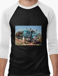 Mobile Plant Haul Men's Baseball ¾ T-Shirt