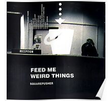 SQUAREPUSHER FEED ME WEIRD THINGS Poster