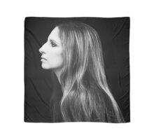 Barbra Streisand Profile Portrait | Mixed Media Scarf