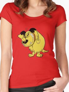 Wacky Races and Muttley Dope Stuff Women's Fitted Scoop T-Shirt