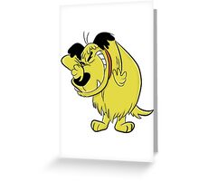 Wacky Races and Muttley Dope Stuff Greeting Card