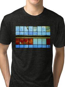 Broken windows. Abandoned. Tri-blend T-Shirt