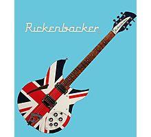 RICKENBACKER BRITISH FLAG UNION JACK Photographic Print