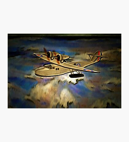 Saro Cloud A29 of the Royal Air Force Photographic Print