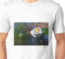 Autumn Leaf in Stream Unisex T-Shirt