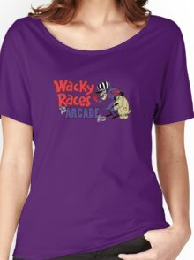 Wacky Races Arcade Game Women's Relaxed Fit T-Shirt