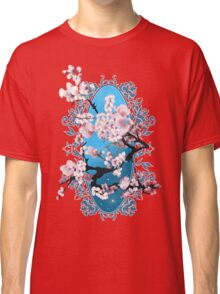 Blossom sakura. Vector illustration Classic T-Shirt