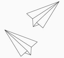 Paper Airplanes Kids Tee