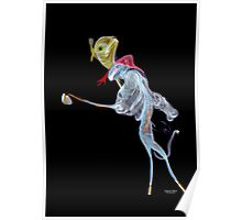Fantasy  incense smoke photograph of golf friends Poster
