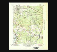 USGS TOPO Map New Jersey NJ Tuckahoe 255410 1941 62500 Unisex T-Shirt