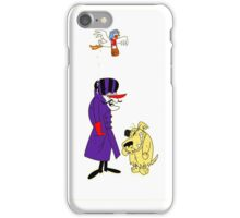 Wacky Races and Muttley Collectible Stuff iPhone Case/Skin