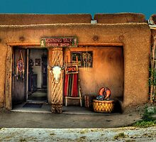 """ Morning Talk On Taos Pueblo"" by K D Graves Photography"
