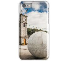 Creetown Clock Tower Photograph Dumfries and Galloway iPhone Case/Skin