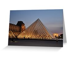 Illuminated Structures Greeting Card