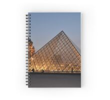 Illuminated Structures Spiral Notebook
