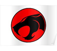 Thundercats Retro Cartoon Logo Poster