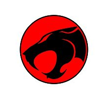 Thundercats Retro Cartoon Logo Photographic Print