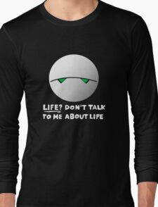The paranoid android Long Sleeve T-Shirt