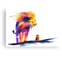 Howard and lil H Canvas Print