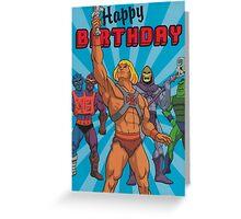 He-Man Dope Merch Greeting Card