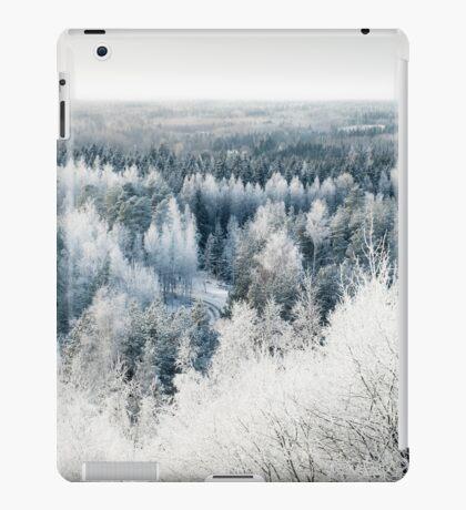 Frosty trees iPad Case/Skin