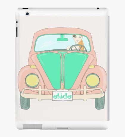 driving maggiolino iPad Case/Skin