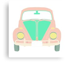 cute maggiolino car Canvas Print