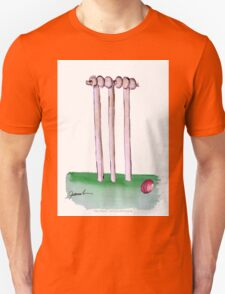 England Cricket Bails - tony fernandes Unisex T-Shirt