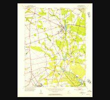 USGS TOPO Map New Jersey NJ Elmer 254353 1953 24000 Unisex T-Shirt