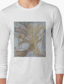 Tree in gold Long Sleeve T-Shirt