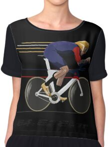 Wiggo Record Breaker Chiffon Top