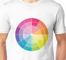 Colour Wheel Unisex T-Shirt