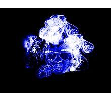 legalize blue Photographic Print