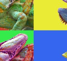 Chameleon PopArt Sticker