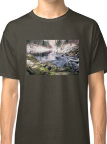 Riverside (mood cottage on the river) Classic T-Shirt